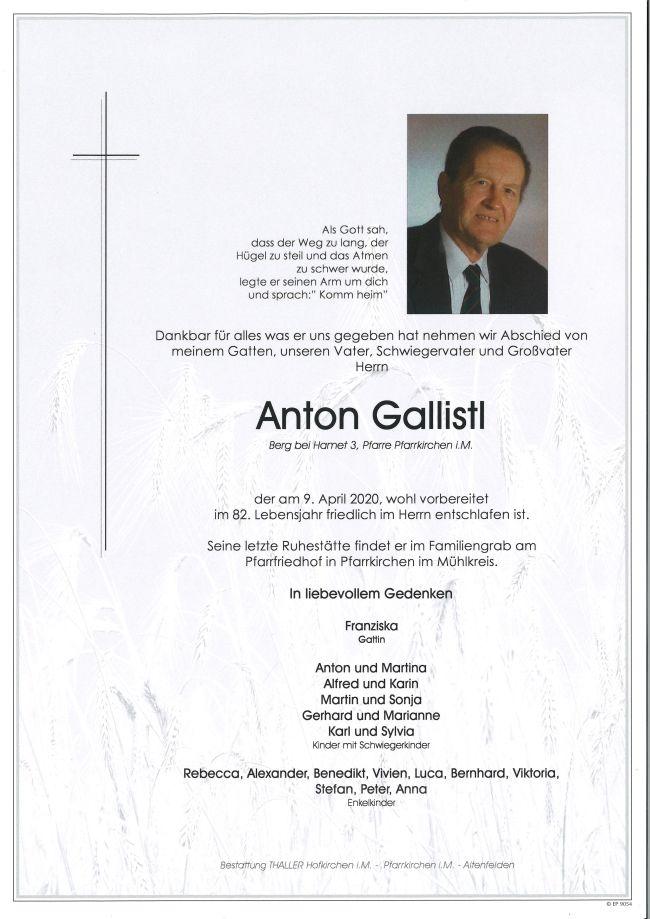 Parte Gallistl Anton