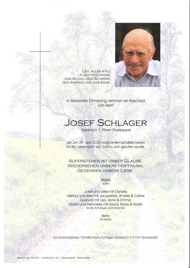 Parte Schlager Josef