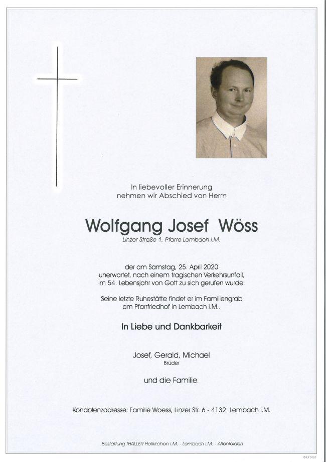 Parte Wöss Wolfgang Josef
