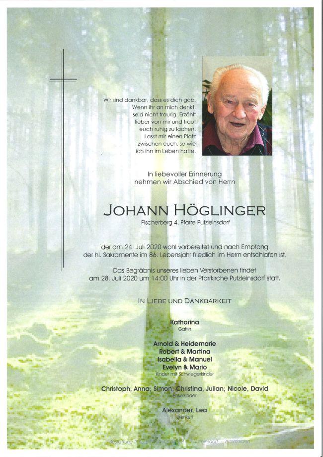 Parte Höglinger Johann