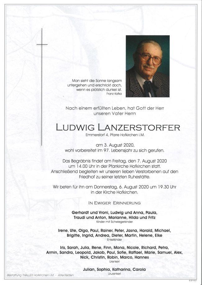 ParteLanzerstorfer Ludwig