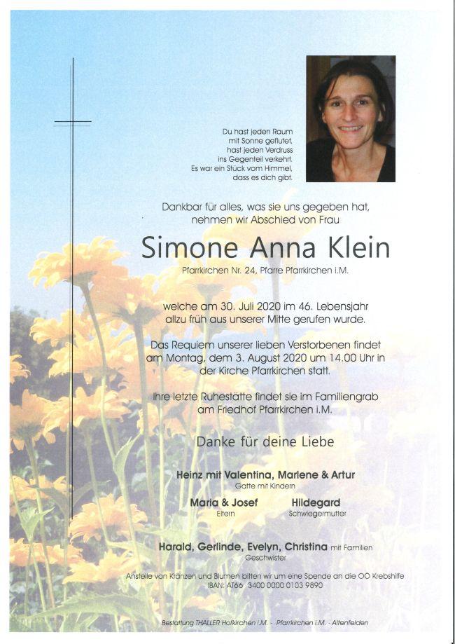Parte Klein Simone Anna