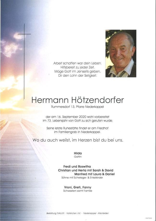 Parte Hötzendorfer Hermann