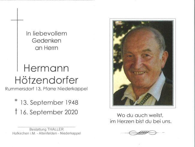 Sterbebild Hötzendorfer Hermann