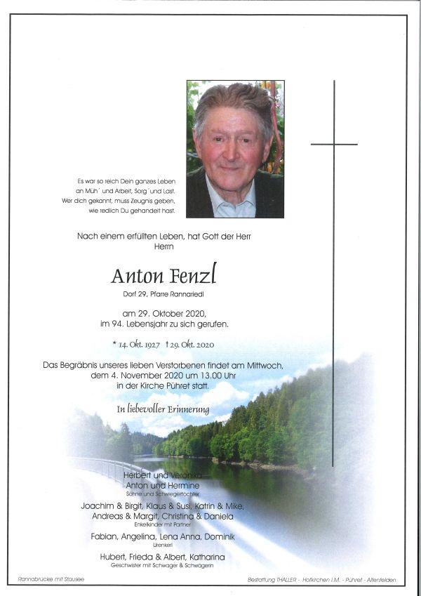 Parte Fenzl Anton