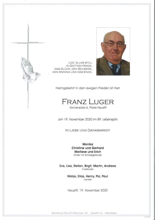 Parte Franz Luger