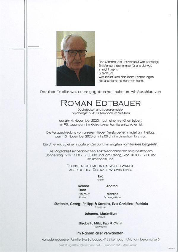Parten Edtbauer Roman