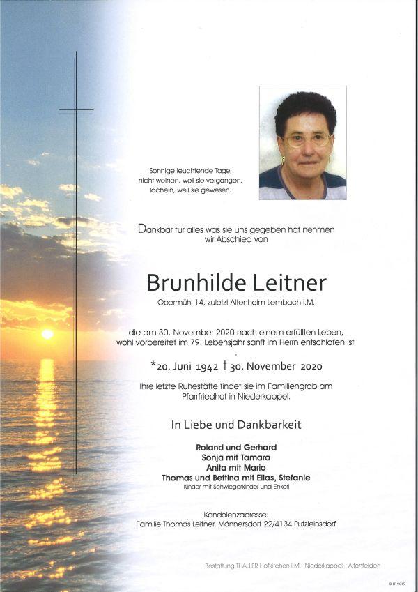 Parte Leitner Brunhilde