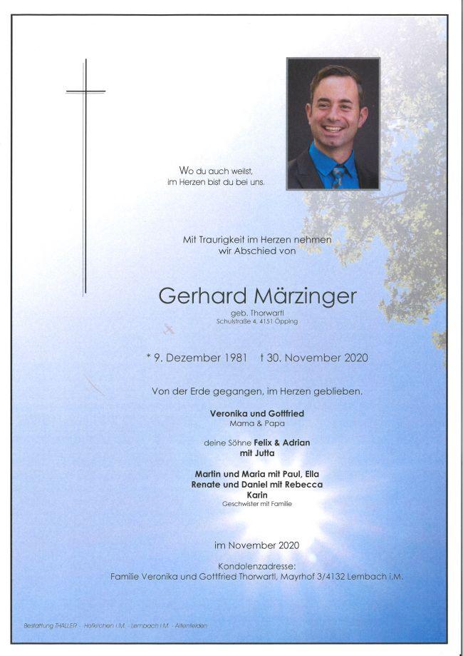 Parte Märzinger Gerhard