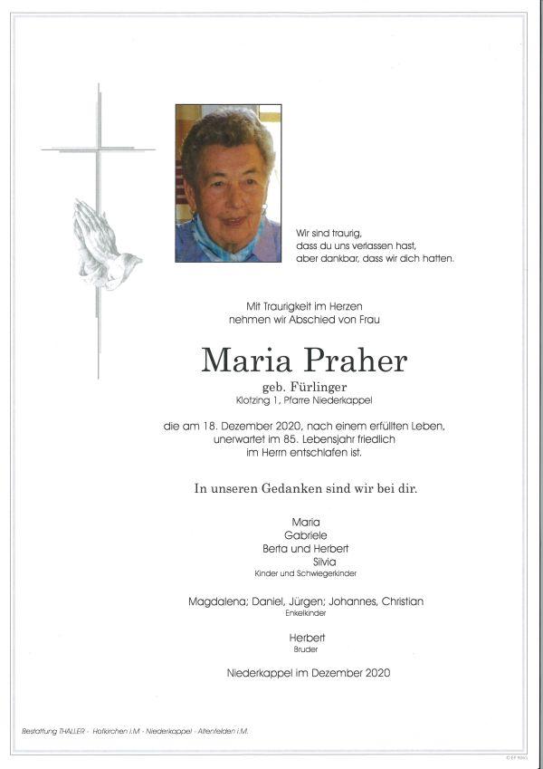 Parte Praher Maria