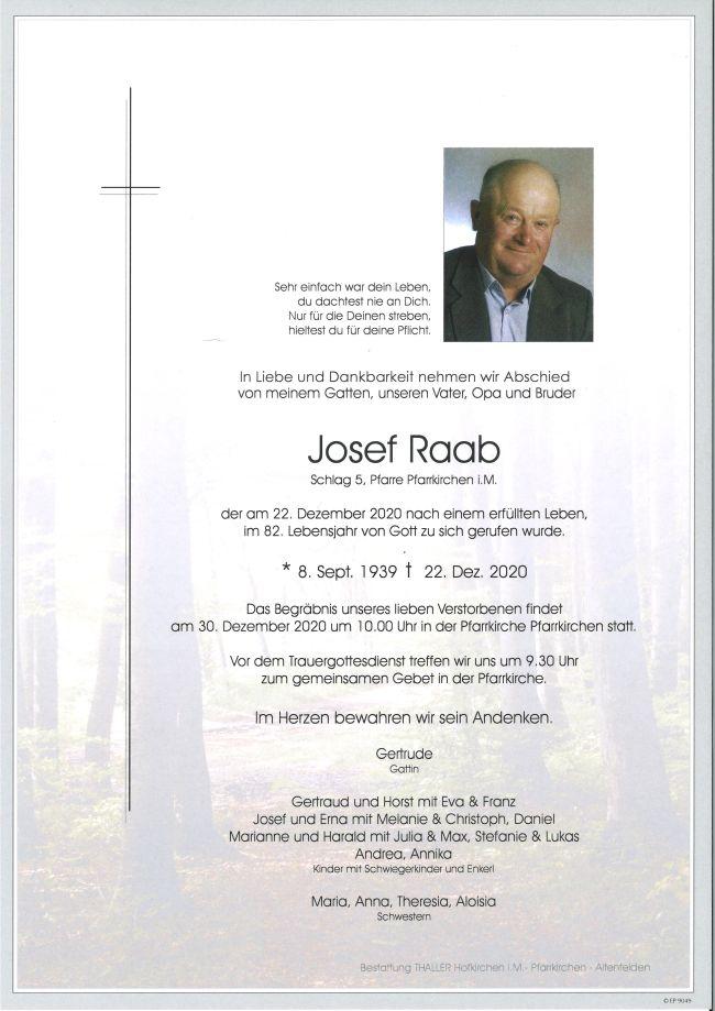 Parte Raab Josef