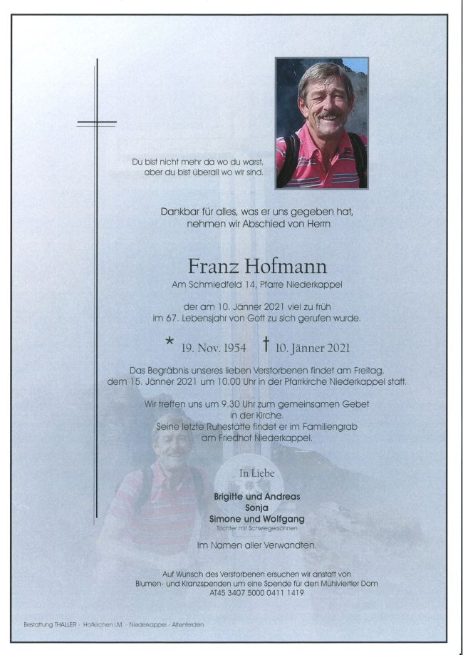 Parte Hofmann Franz