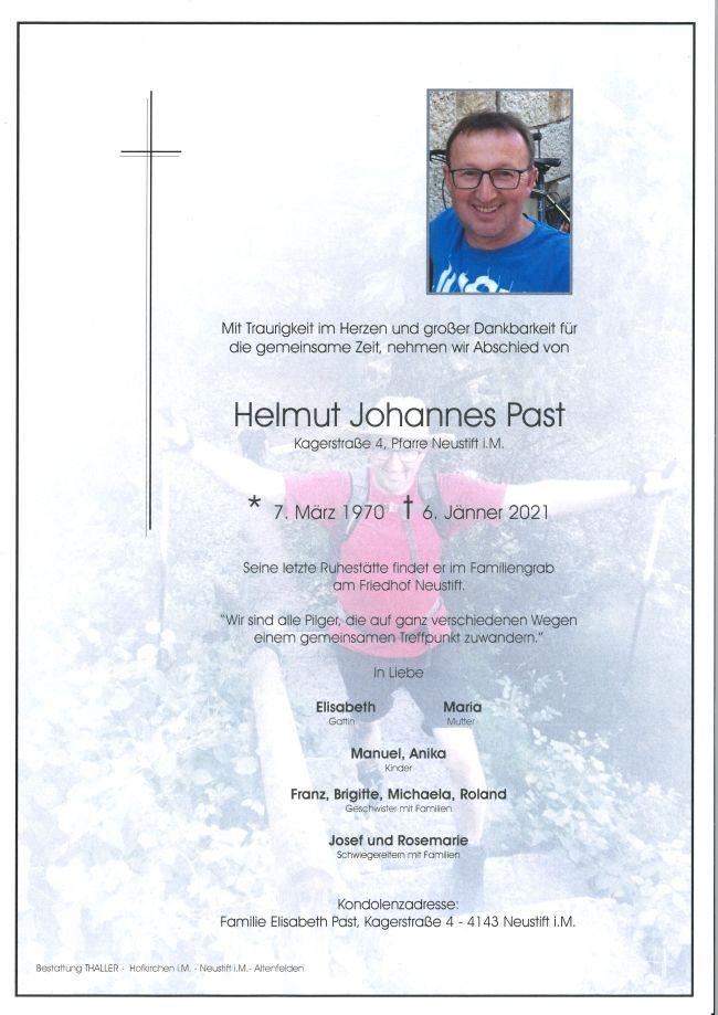 Parte Past Helmut