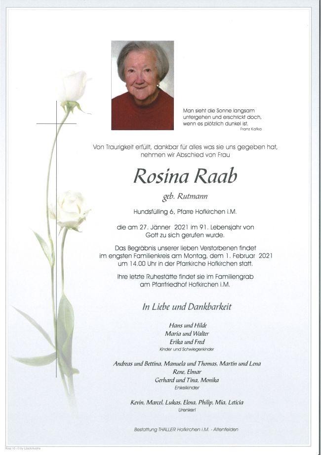 Parte Rosina Raab