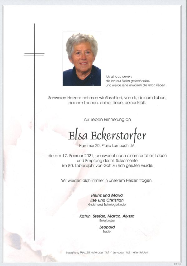 Parte Eckerstofer Elsa