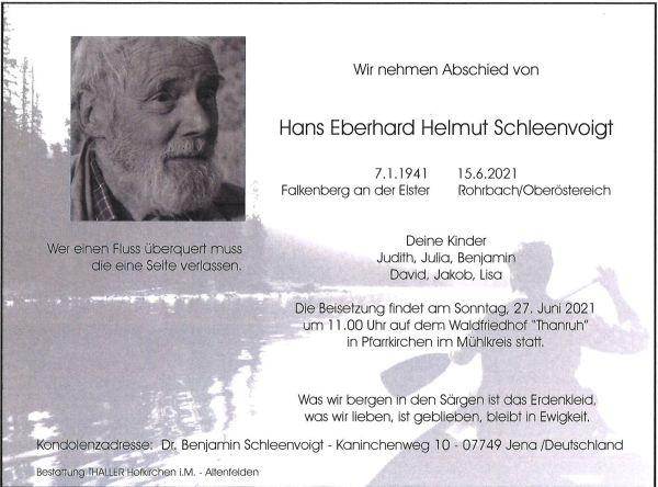 Parte Hans Eberhard Helmut Schleenvoigt