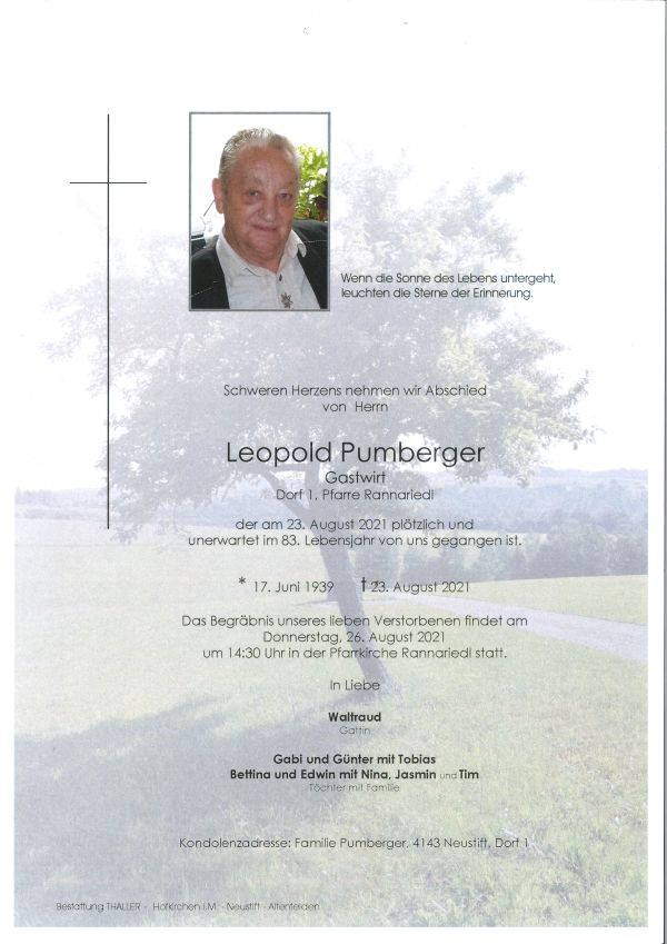 Parte Pumberger Leopold