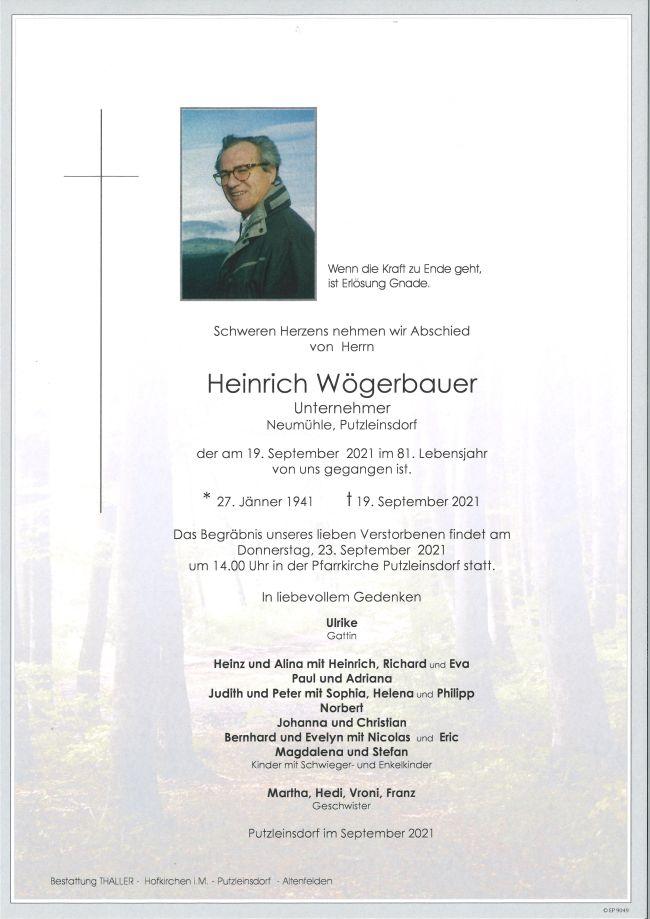Parte Wögerbauer Heinrich