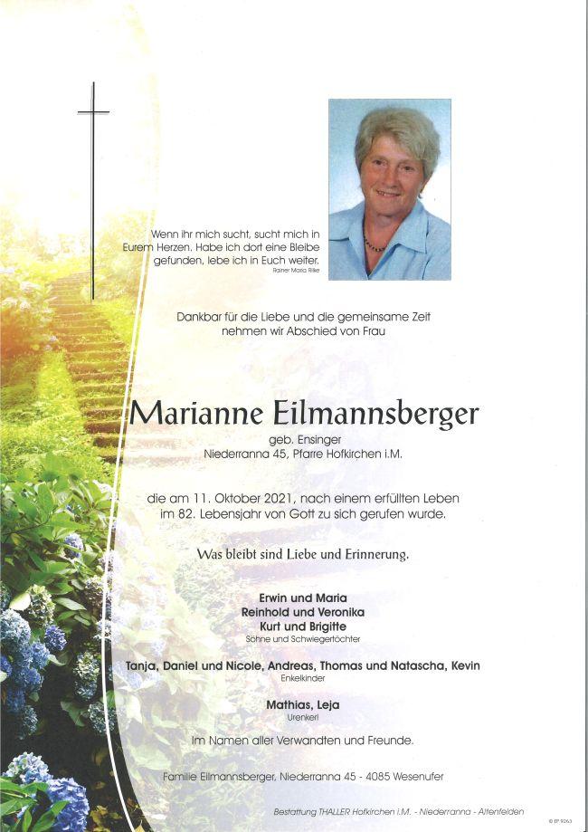 Parte Eilmannsberger Marianne